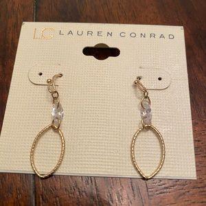 Women's Lauren Conrad gold earrings